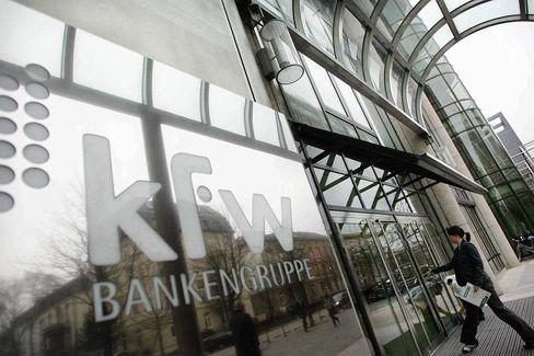 KfW-Zentrale in Frankfurt: Besonders die IKB-Rettung ist teuer für die Förderbank