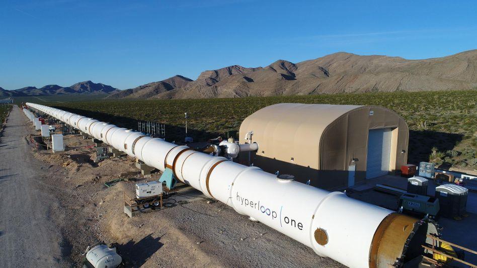 Erste Hyperloop-Teststrecke