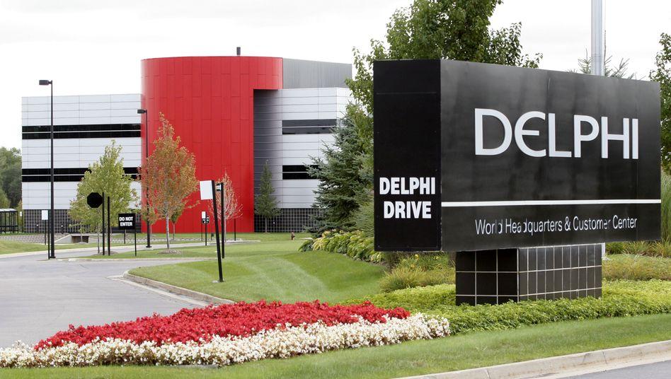 Mit Drive: Der Autozulieferer Delphi will wieder an die Börse
