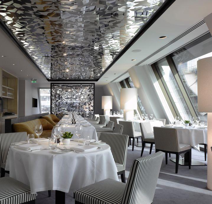 Spezialist für Meeresfrüchte: Das Restaurant Angler im South Place Hotel