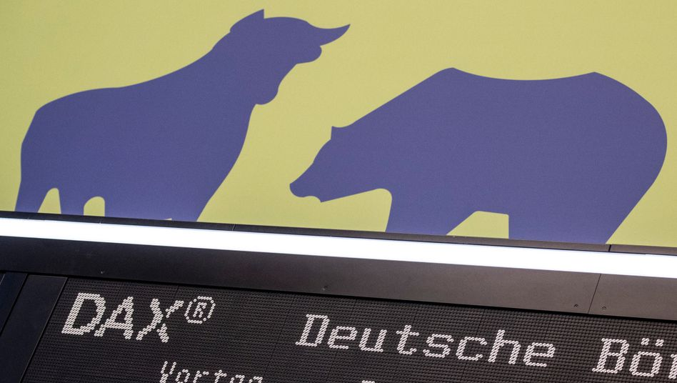 Gewinne im Dax: Der Bulle ist am Freitag wieder obenauf