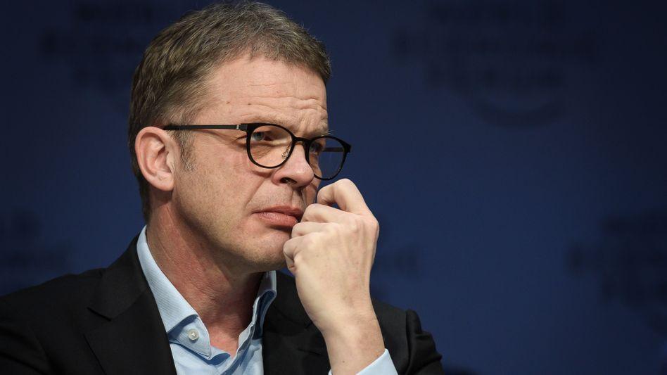 Mann der starken Worte: Deutsche-Bank-CEO Christian Sewing.
