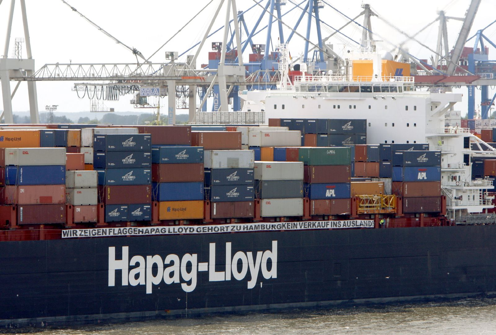 Containerschiff / Hapag-Lloyd