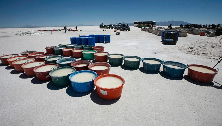 Lithium: In profanen Bottichen gesammelt