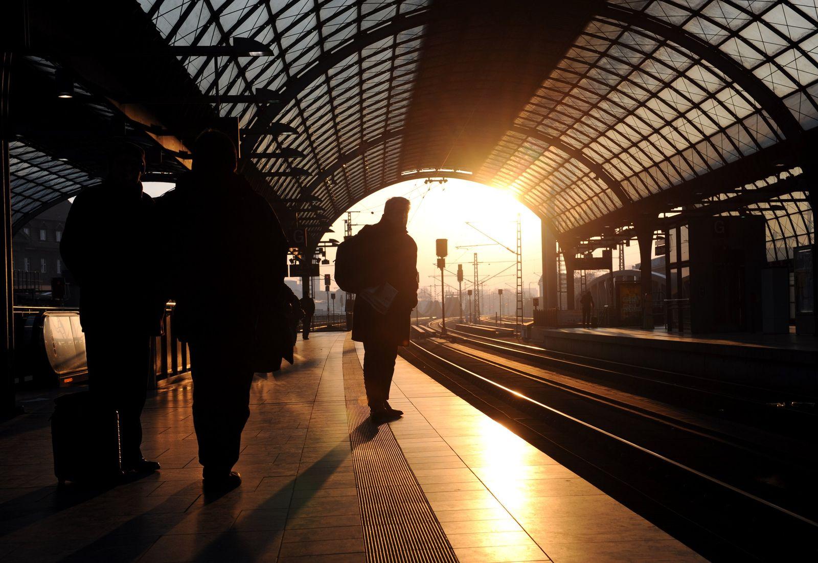 Streik/ Bahn/ Reisende