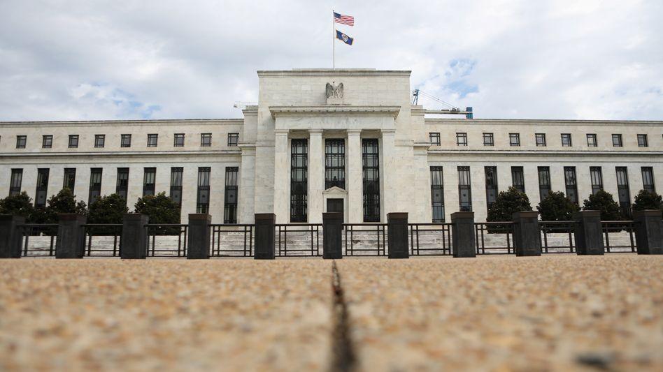 Die wohl mächtigste Bank der Welt: Innerhalb der US-Notenbank (Fed) sind sich die Vertreter uneins über den weiteren Kurs