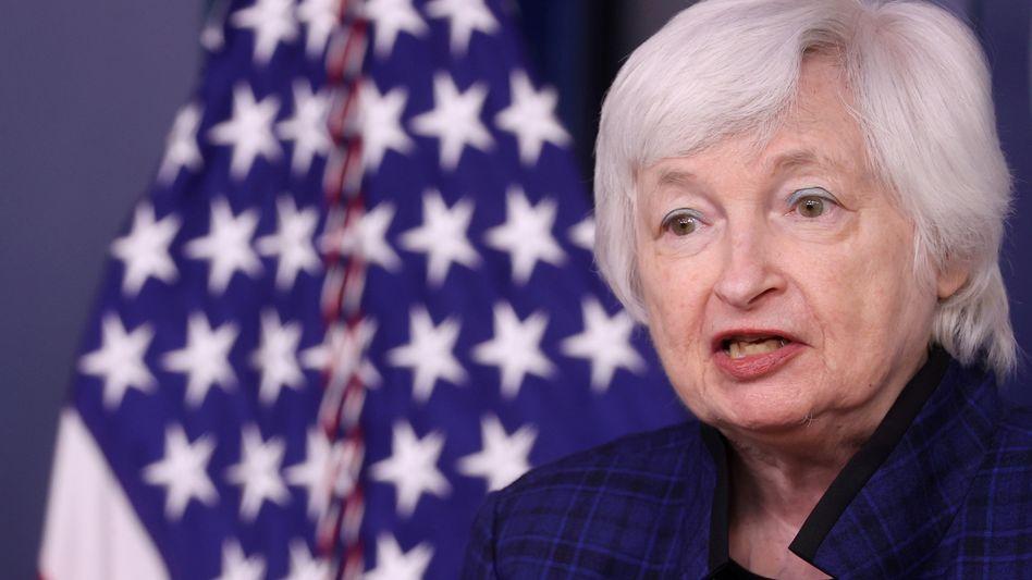 """Ehrgeizige Diskussionen"": US-Finanzministerin Janet Yellen"