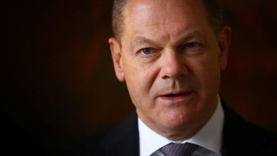 Finanzminister Olaf Scholz will sich an Großbritannien und Frankreich orientieren
