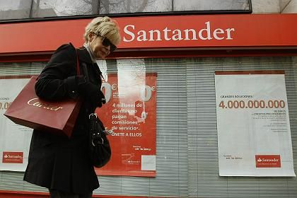 Insider-Papiere: Die Aktie der spanischen Banco Santander steigerte sich um ungefähr 80 Prozent