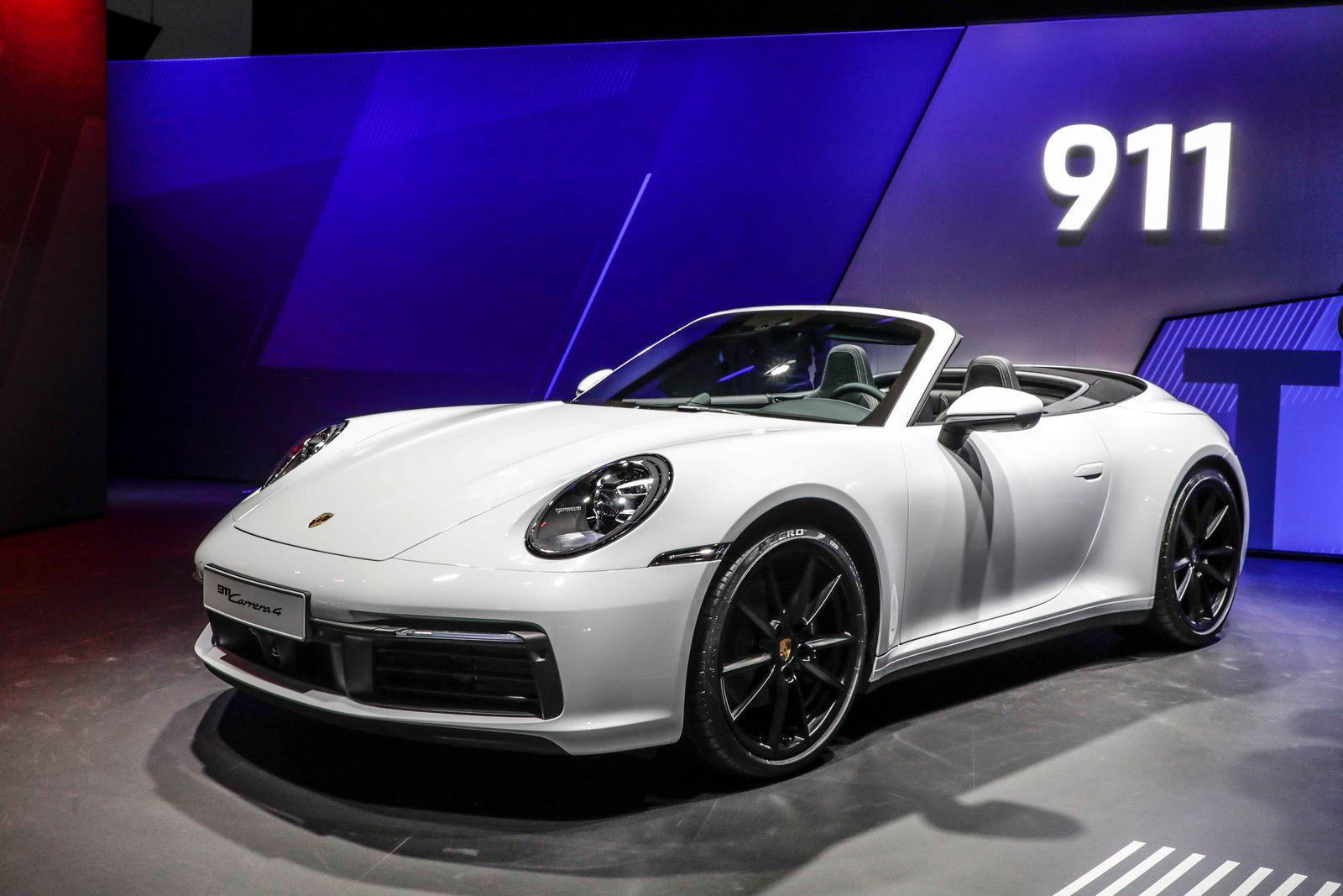 EINMALIGE VERWENDUNG Allrad: Porsche 911 kommt auch wieder als Carrera4