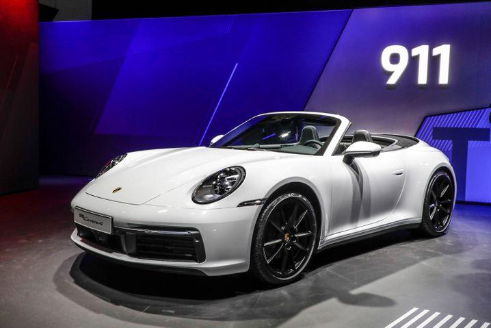 Porsche Carrera 4: Als Cabrio ist der neue Porsche ab 126.789 Euro zu haben