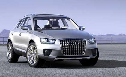 Große Schnautze: Der Audi Cross Quattro Coupé