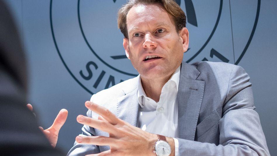 Bewegung zum Start: Continental-Chef Nikolai Setzer
