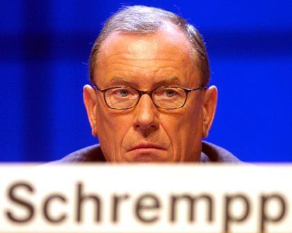 Rhetorik verfing nicht: DaimlerChrysler-Chef Schrempp
