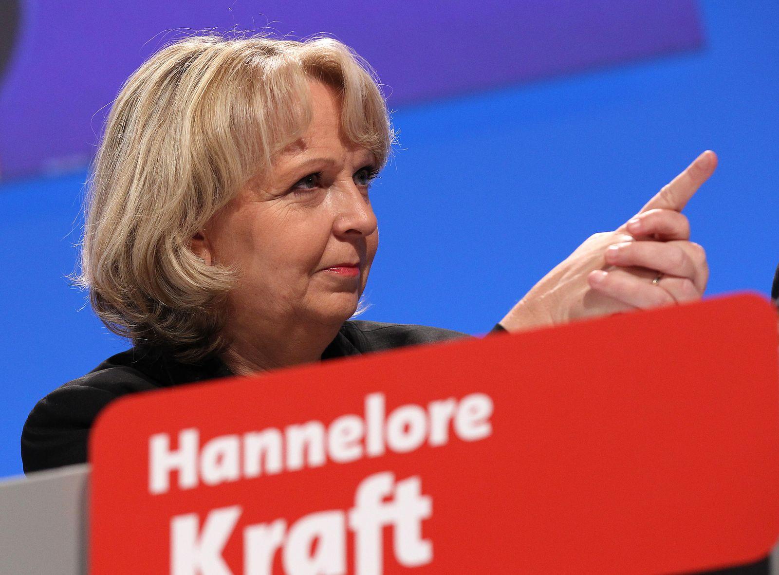 Hannelore Kraft / Parteitag / NRW