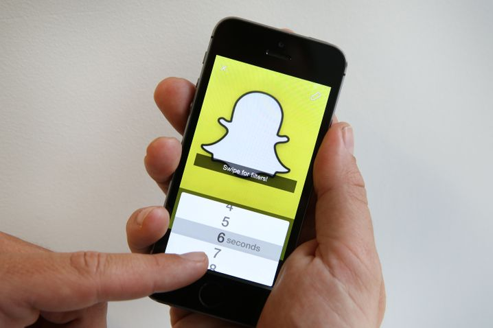 Zensiert: Snapchat ist in China ebenfalls nicht verfügbar. Ein Ersatz dafür ist nicht in Sicht - er wird in China offenbar auch nicht vermisst.