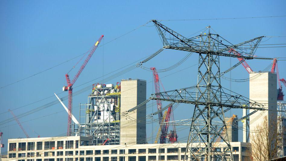 Kraftwerksbaustelle von RWE in den Niederlanden: Wenig Glück mit Stromerzeugung aus Gas