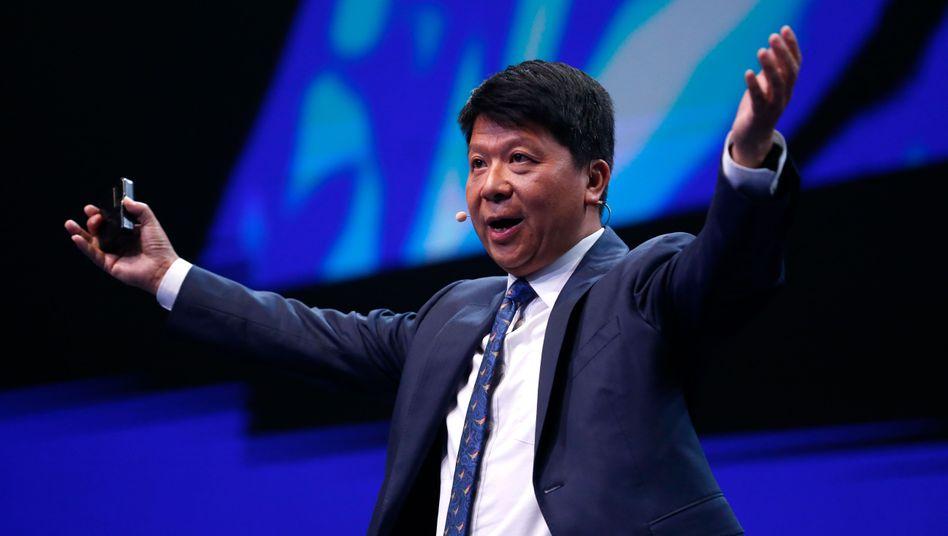 Huawei-Vorsitzender Guo Ping