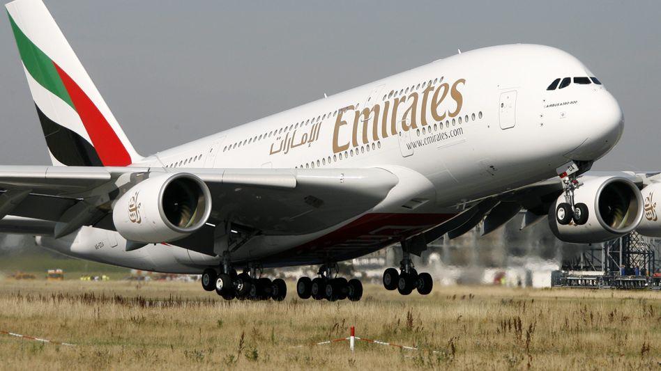 A380 der Fluggesellschaft Emirates: Wenn die Airline keinen weiteren A380 bestellt, muss das Programm eingestellt werden