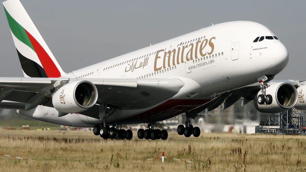 Fluglinie Emirates: So sehen Economy, Business und First Class aus