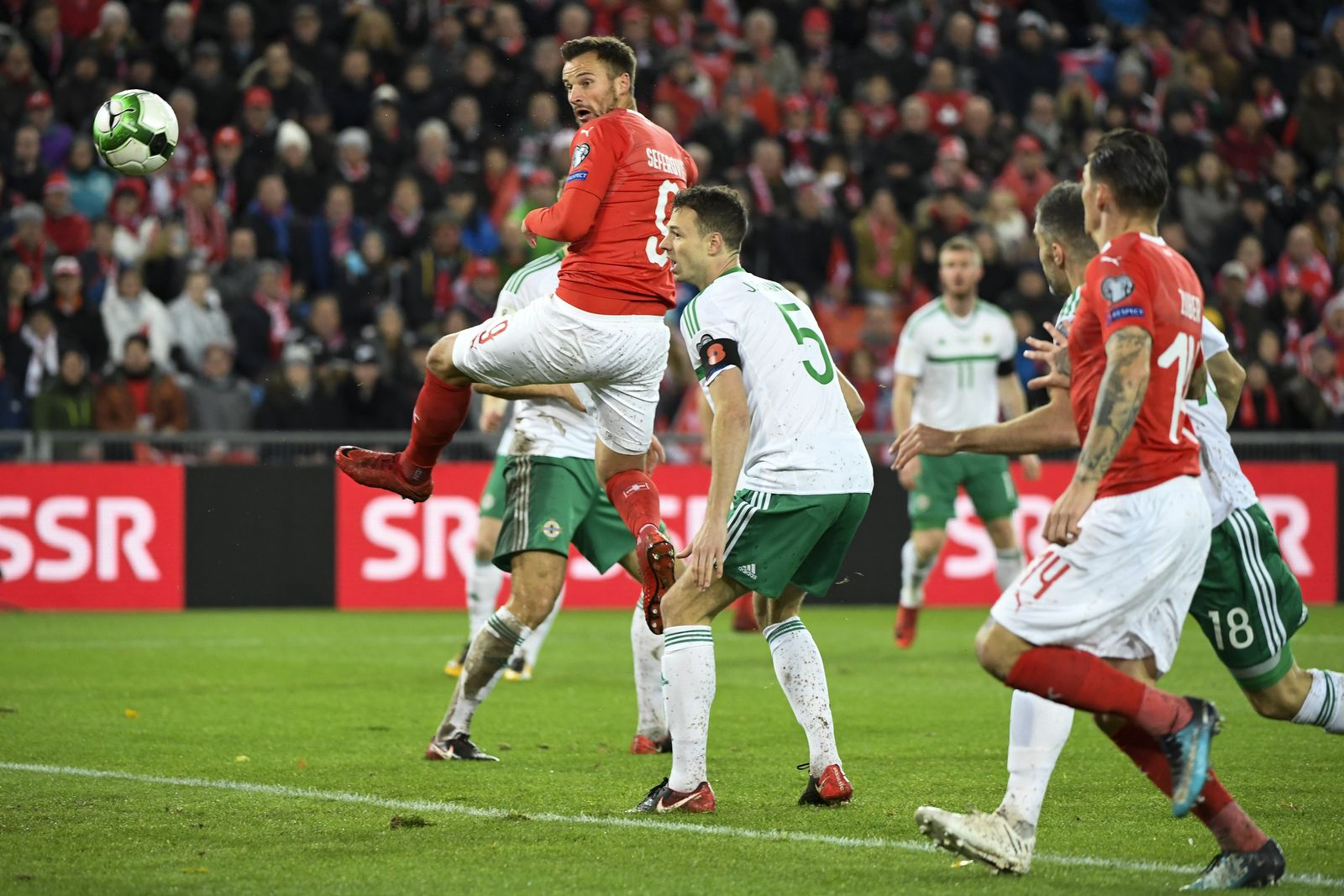 Fußball: Schweiz - Nordirland