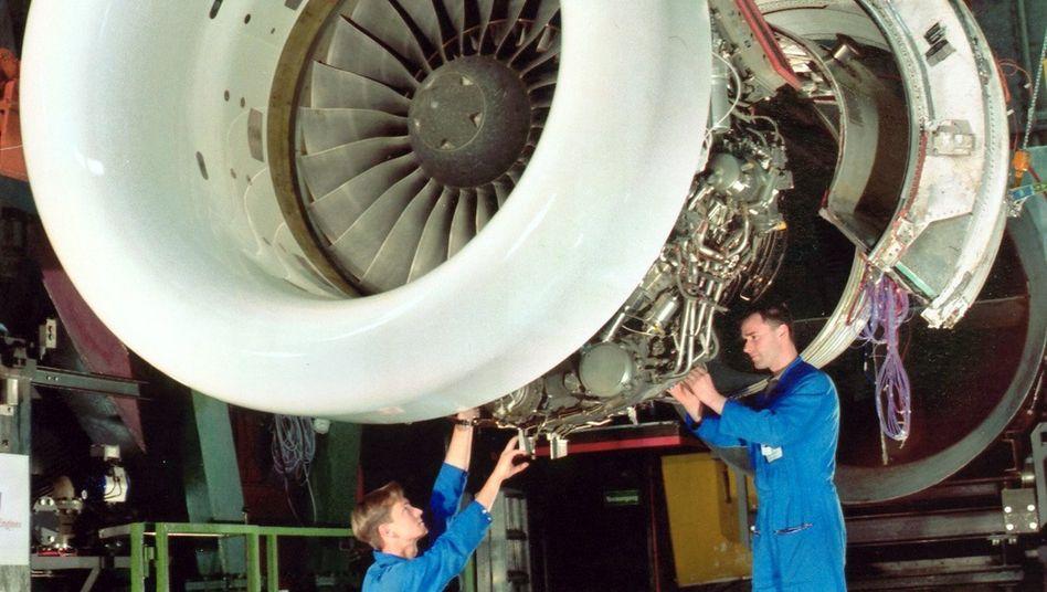 Triebwerk von MTU Aero Engines: Unternehmen profitiert vom Konjunkturaufschwung
