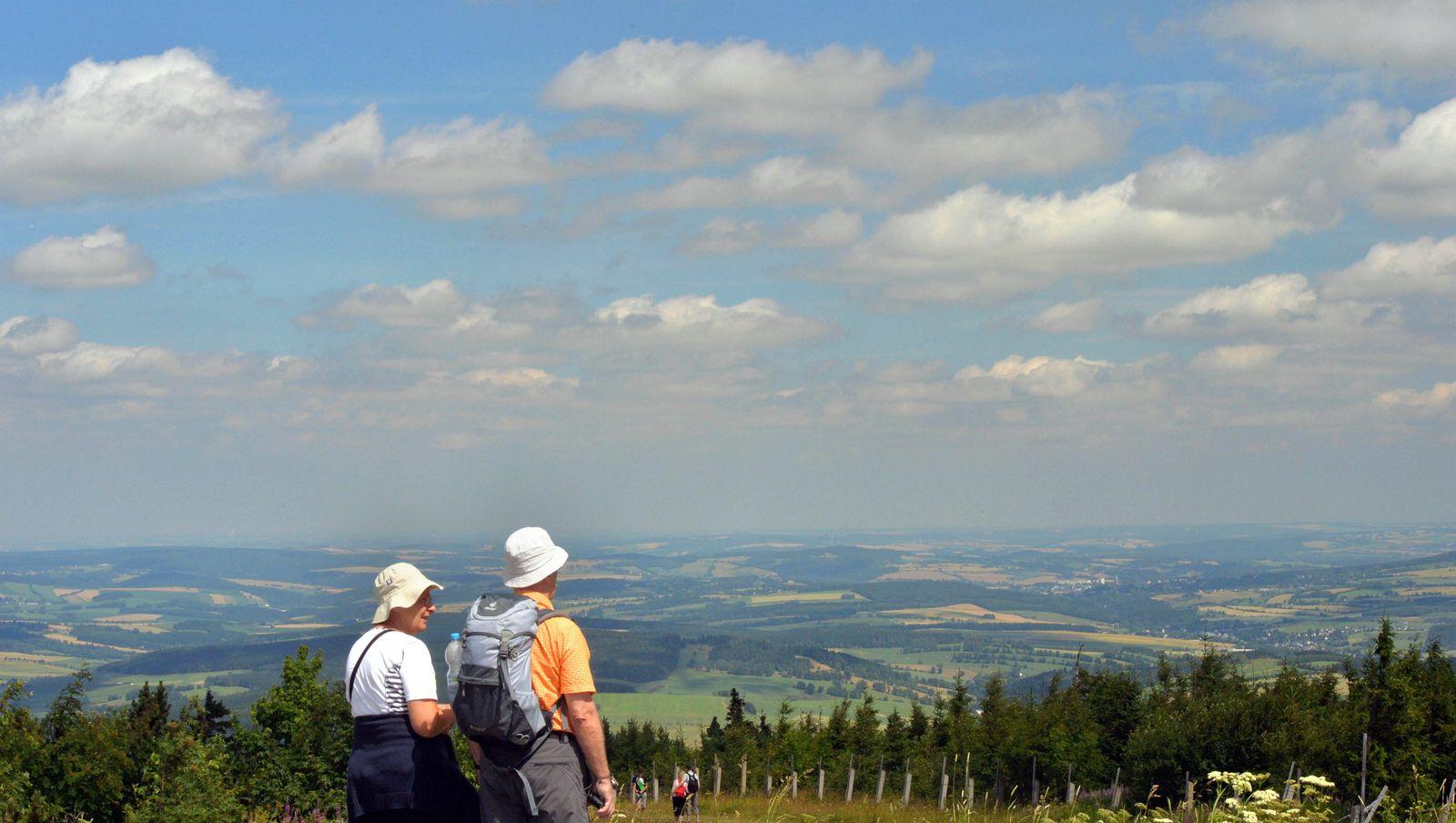 Extremwandern im Erzgebirge / Wandern