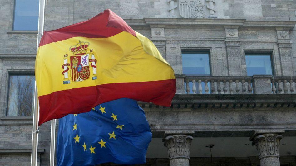 Milliardenschwere Unterstützung: Die EU hat wie erwartet das Banken-Hilfsprogramm für Spanien beschlossen