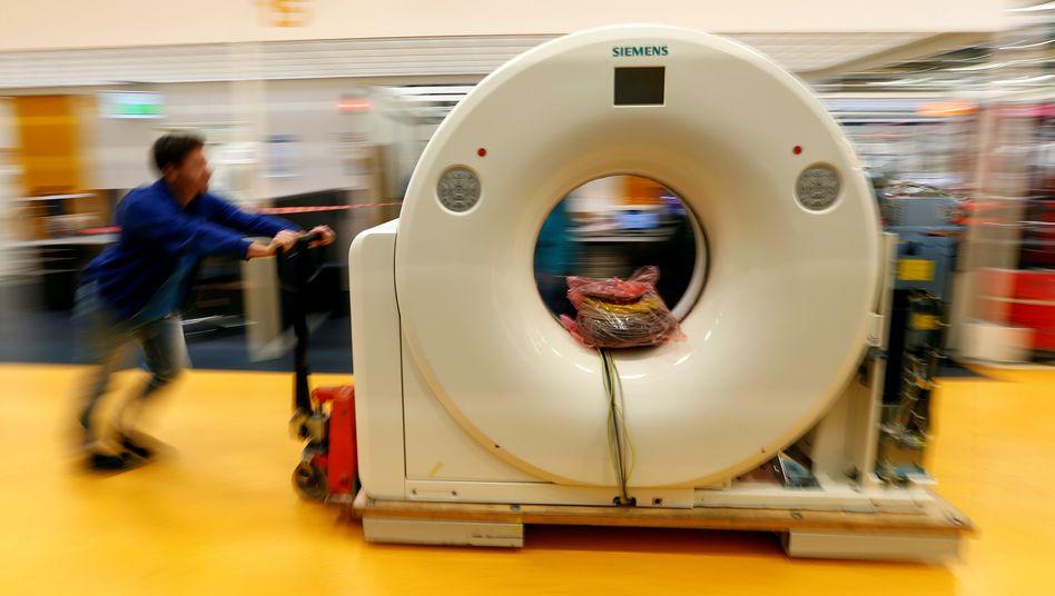 Siemens Healthineers: Die Aktie startete am Freitag deutlich über dem Ausgabepreis von 28 Euro