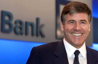 Er segnete die hohen Zahlungen mit ab: Josef Ackermann, Chef der Deutschen Bank