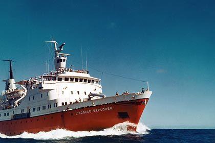 MV Explorer: Das Schiff sank im vergangenen November nach der Kollision mit einem Eisberg in der Antarktis
