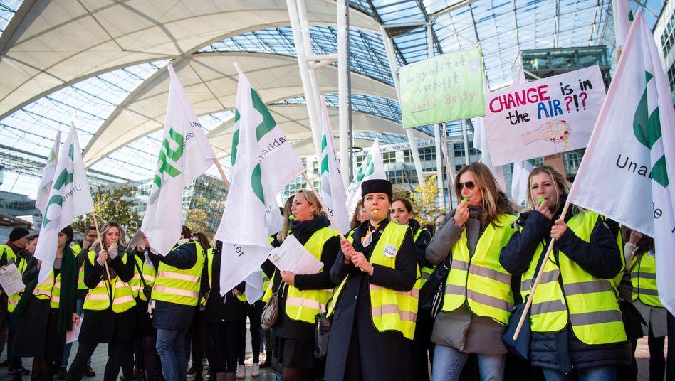 Erster Streiktag: Lufthansa will nun doch mit der Gewerkschaft Ufo sprechen