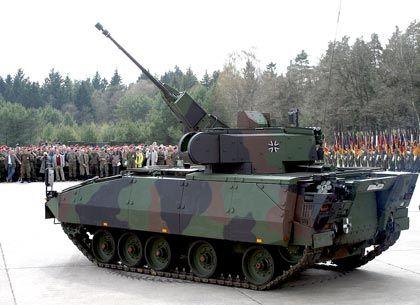 Drei-Milliarden-Auftrag für Rheinmetall: Die Bundeswehr bestellte 405 Puma-Panzer