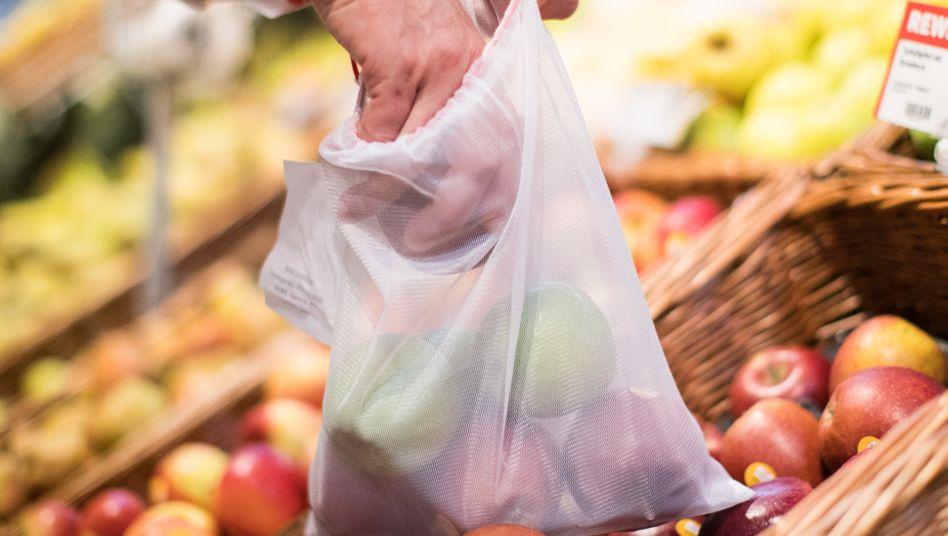 Mehrweg-Frischenetze sind eine günstige und gute Alternative zum Plastikbeutel