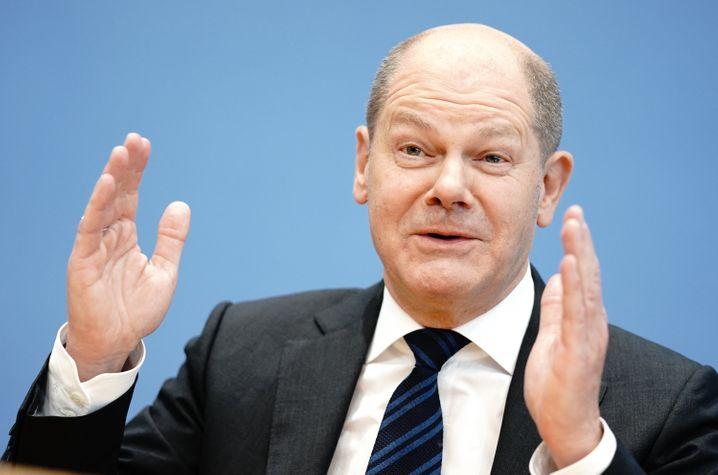 Bundesfinanzminister Olaf Scholz legt für Start-ups in der Corona-Krise zusätzlich zwei Milliarden Euro raus