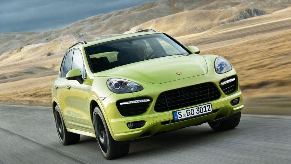 Porsche Cayenne: 52 Prozent des bisherigen Jahresabsatzes entfällt auf die geländegängige Limousine