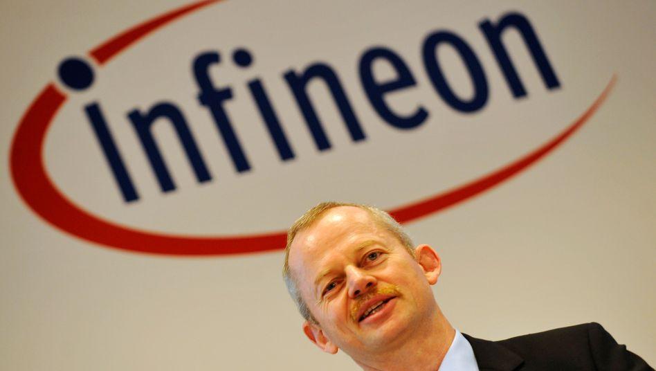 Vor dem Abgang: Noch-Infineon-Chef Bauer
