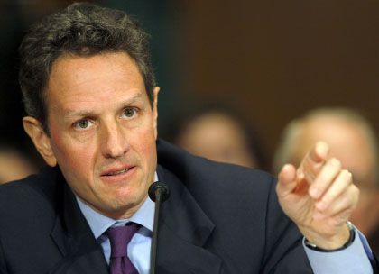 Will die Privatwirtschaft bei der Bankenrettung in die Pflicht nehmen: Timothy Geithner