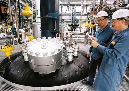 Großreaktor des Chemieunternehmens Lanxess: Erfolgreich von Bayer abgespalten