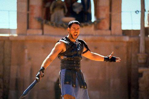 """Kämpferisch: Eine Szene aus dem Film """"Gladiator"""" festigte das Team"""