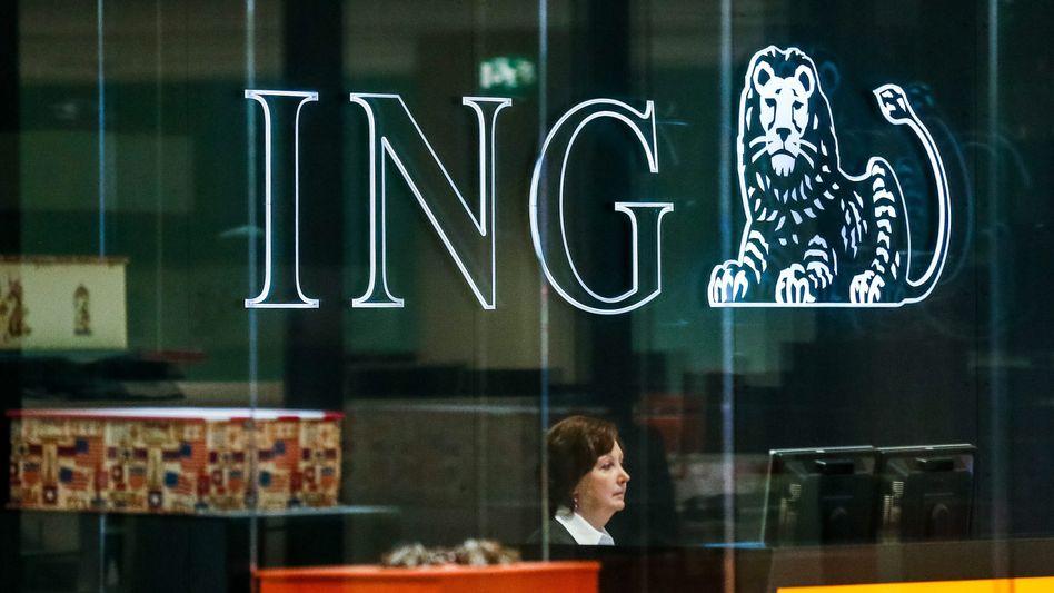 Der Löwe brüllt: Die ING (im Bild die belgische Verwaltung in Brüssel) verschärft ihre Gangart beim Negativzins