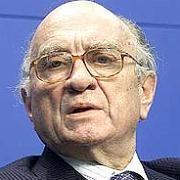 """""""Er ist der 'Marktgraf', ein Liberaler durch und durch, ein Föderalist - und ein enagierter Menschenrechtler."""" - Laudator Hans-Olaf Henkel über Otto Graf Lambsdorff, bei dessen Aufnahme in die """"Hall of Fame"""" der deutschen Wirtschaft des manager magazins im Jahr 2001"""