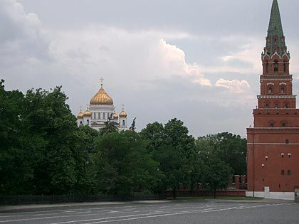 Sitz der Macht: Der Kreml in Moskau