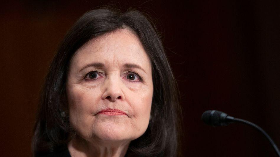 Umstrittene Personalie: Goldfan Judy Shelton fand auch unter den Republikanern nicht genügend Unterstützer