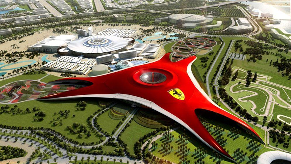 Ferrari World: Abu Dhabis riesiger Themenpark