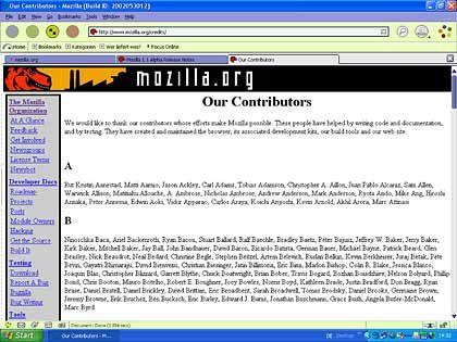 Konkurrent zum Internet Explorer: Der Browser Mozilla