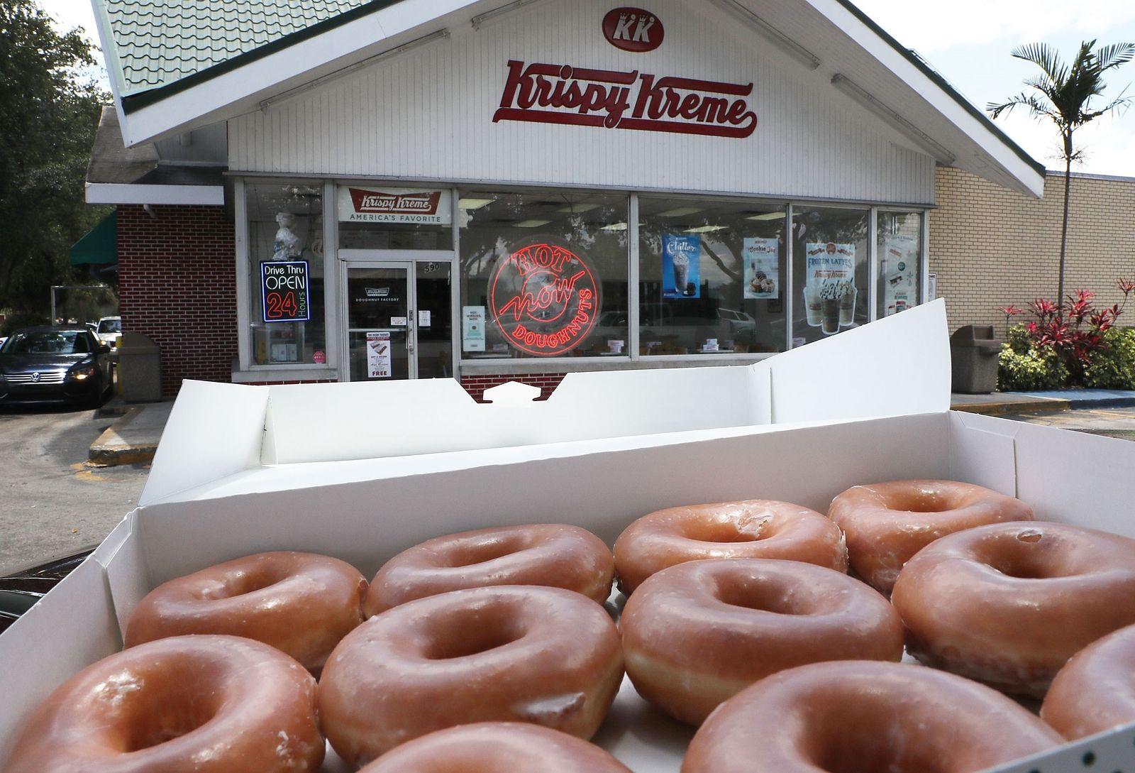Reimann kauft Krispy Kreme
