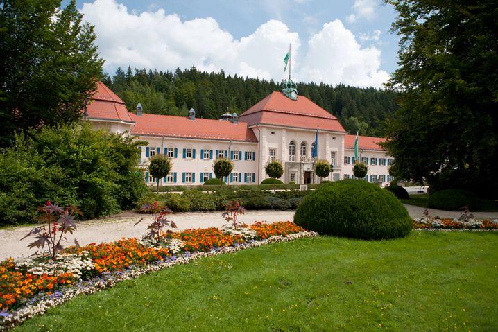 Festliche Architektur: Das Albertbad in Bad Elster