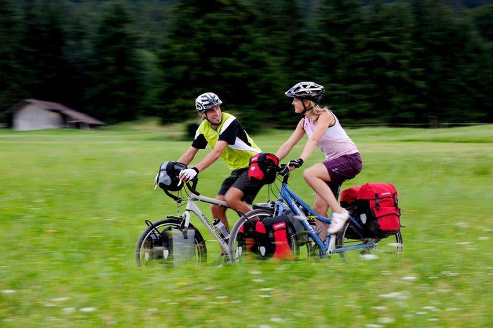 Die Packesel in der Welt der Velos: Reiseräder sind robust konstruiert und können dadurch ordentlich was tragen.
