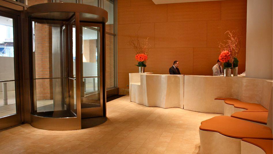 Das Entré macht vieles aus: Lobby eines Hotels